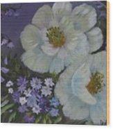 Purple Magic Wood Print
