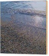 Refreshing Surf Wood Print
