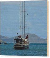 Sailing Virgin Islands Wood Print