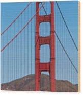 San Fransisco Bay Bridge Wood Print