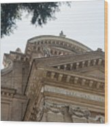 Sancti Pauli Ad Aquas Salvias Wood Print