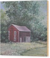 Shortys Shed Wood Print