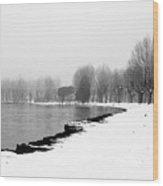 .. Spiaggia Di Neve ... Wood Print