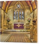 St Lawrence Seal Chart - Chancel Wood Print