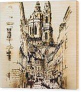 St. Nicholas Church In Prague Wood Print
