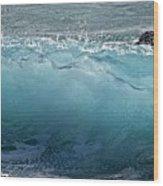 Surf Starter, Kekaha Beach Wood Print