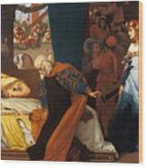 The Feigned Death Of Juliet  Wood Print