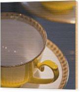 Time For Tea  Wood Print