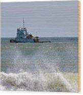 Tugboat Thomas D Witte Wood Print