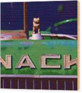 Wack Truck Wood Print