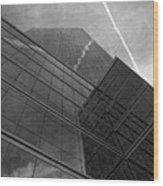 White Plains Office Building 5 Wood Print