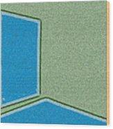 Window In The Empty Room 2-1 Wood Print