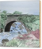 Wishing Bride Bridge, Co.. Kerry Wood Print