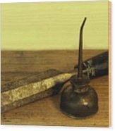 Wood Chisel No.40. Wood Print