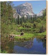 @ Yosemite Wood Print