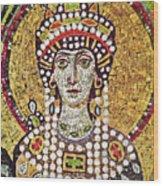 Theodora (c508-548) Wood Print