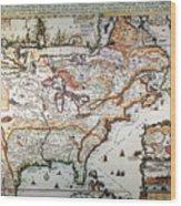 New France, 1719 Wood Print
