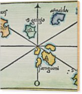 Azores, 1528 Wood Print