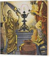 Yellow Journalism, 1909 Wood Print