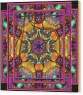 001 - Mandala Wood Print by Mimulux patricia no No