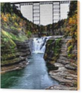 0032 Letchworth State Park Series  Wood Print