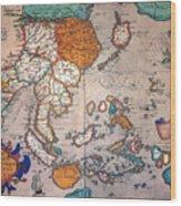 Pacific Ocean/asia, 1595 Wood Print