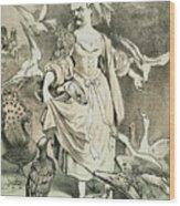 Otto Von Bismarck Wood Print