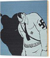Adolf Hitler Cartoon, 1935 Wood Print