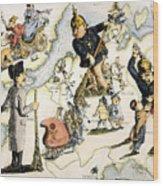 Europe: 1848 Uprisings Wood Print