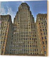 01 Buffalo Ny City Hall Wood Print