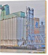 01 General Mills Wood Print