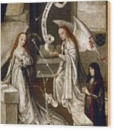Spain: Annunciation, C1500 Wood Print
