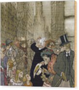 Rackham: City, 1924 Wood Print