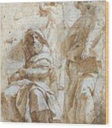 Raphael: Study, C1510 Wood Print