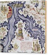 Marco Polo (1254-1324) Wood Print