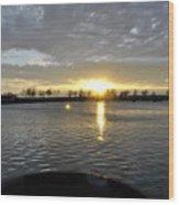 012 April Sunsets Wood Print