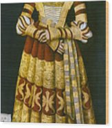 Katharina Von Mecklenburg Wood Print by Granger