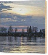 013 April Sunsets Wood Print