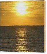 013 Sunset 16mar16 Wood Print