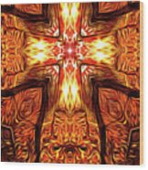 017 Wood Print