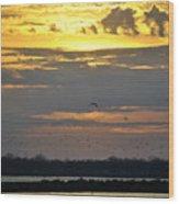 019 April Sunsets Wood Print