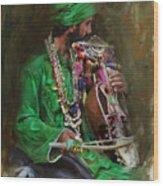 023 Sindh Wood Print
