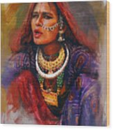027 Sindh Wood Print