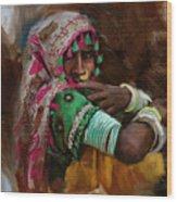 029 Sindh Wood Print
