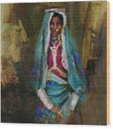 030 Sindh Wood Print