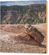 030715 Palo Duro Canyon 049 Wood Print