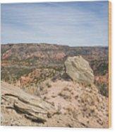 030715 Palo Duro Canyon 118 Wood Print