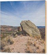 030715 Palo Duro Canyon 123 Wood Print