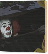 036. They All Float Down Here Wood Print