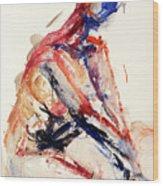 04996 Sunburn Wood Print